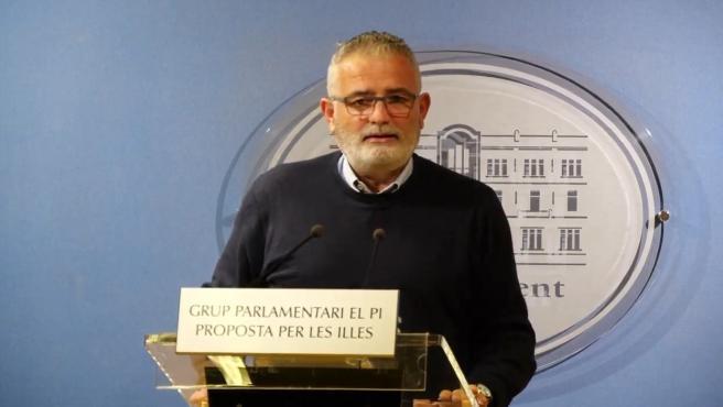 El portavoz de El PI, Jaume Font.
