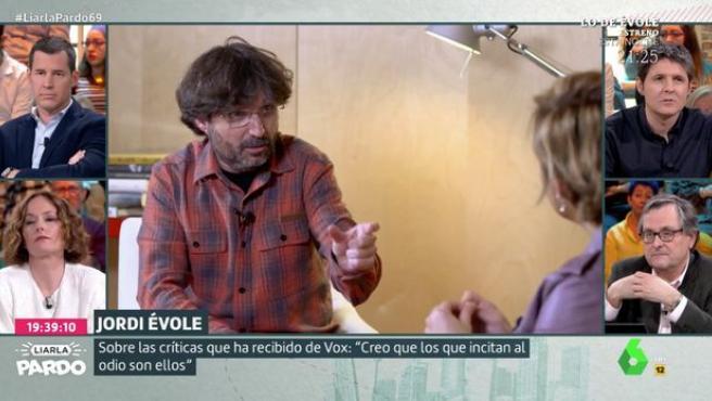 Jordi Évole, en Liarla Pardo