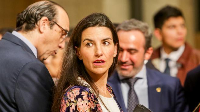 La portavoz del Grupo Vox en la Asamblea de Madrid, Rocio Monasterio