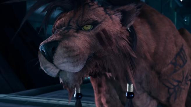 Red XIII, en el nuevo trailer de 'Final Fantasy VII Remake'.