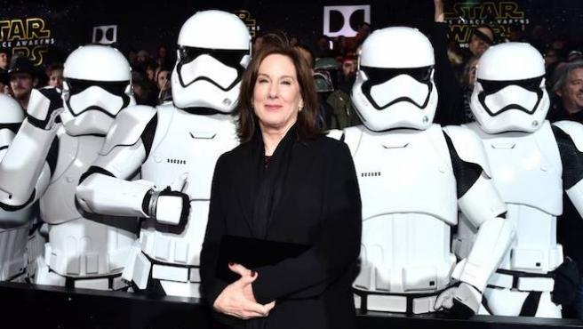 Kathleen Kennedy promete una directora para 'Star Wars'