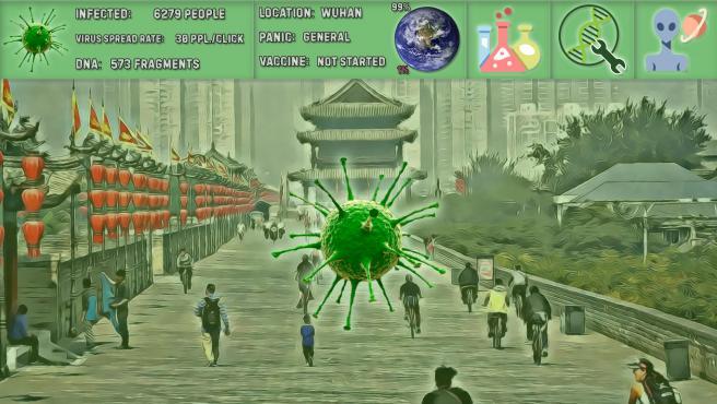 En 'Coronavirus Simulator' nuestro objetivo será infectar al mayor número de personas.