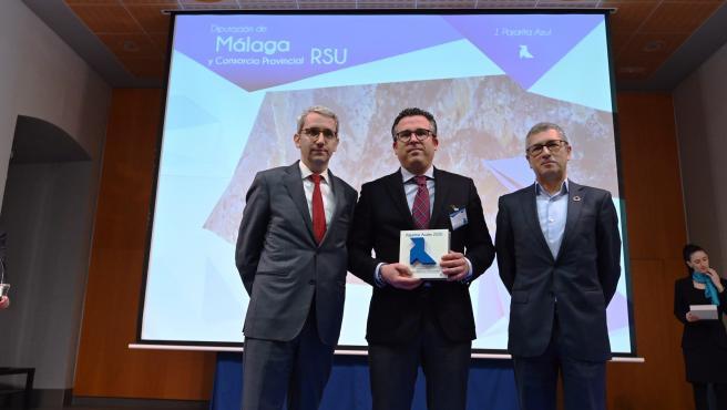 El Consorcio de Residuos es premiado por optimizar el sistema de recogida para el reciclaje de papel