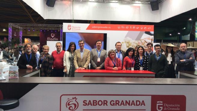 Imagen del stand de 'Sabro Granada'