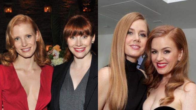 Jessica Chastain te reta: ¿Adivinas quién de estas pelirrojas es Isla Fisher?