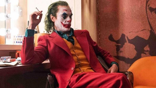 Joaquin Phoenix en una escena de Joker