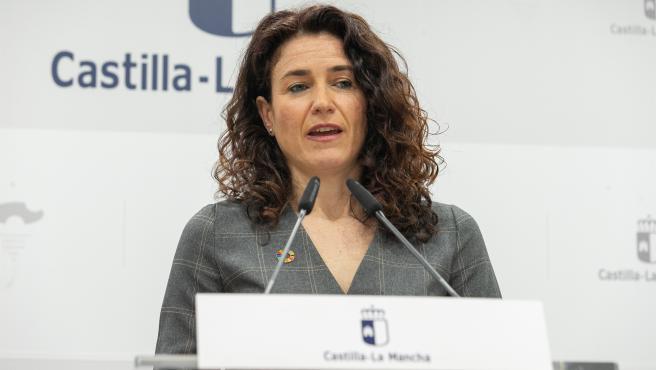 La viceconsejera de Empleo, Diálogo Social y Bienestar Laboral de la Administración regional, Nuria Chust.