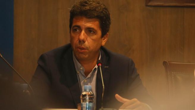 Carlos Mazon, imagen de archivo.