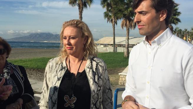 Carolina España y Pablo Montesinos, candidatos por el PP de Málaga al Congreso