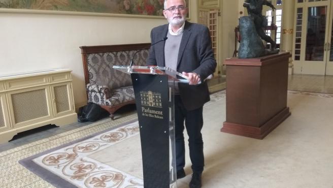 El portavoz de El PI en el Parlament, Jaume Font.