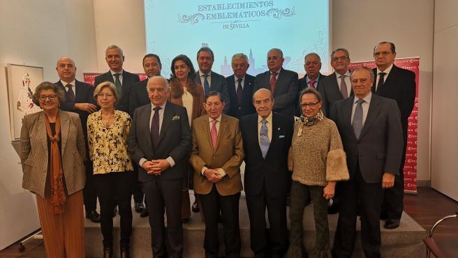 Entrega de los reconocimientos a los establecimientos 'emblemáticos' de Sevilla