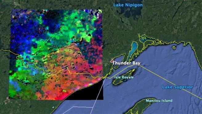 Imagen del despertar matutino de las plantas desde el espacio Imagen del despertar matutino de las plantas desde el espacio 2/5/2020