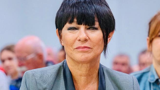 La candidata a lehendakari por EH Bildu, Maddalen Iriarte