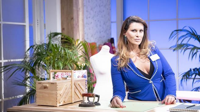 La concursante de 'Maestros de la Costura', Lara Sajén.