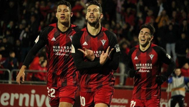 Mirandés, en Copa del Rey