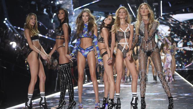 Victoria's Secret fashion show de New York, 2018.
