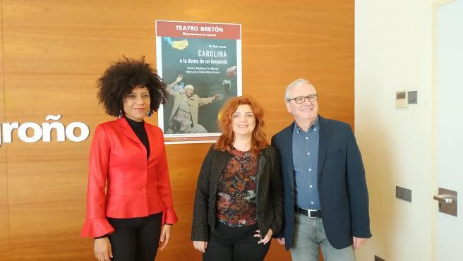 El teatro Bretón de Logroño acoge esta noche 'Carolina o la doma de un leopardo'