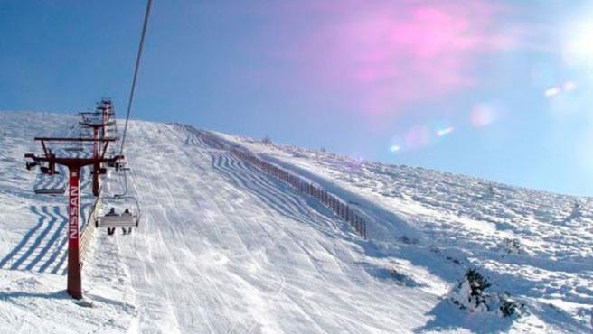 En la estación de esquí de Navacerrada se puede encontrar todo tipo de pistas.