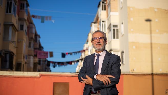 Juan Manuel Flores, delegado de Empleo, Bienestar Social y Planes Integrales del Ayuntamiento de Sevilla.