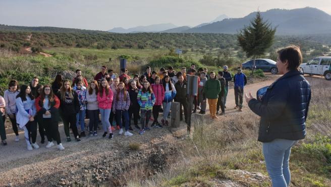 Visita a la Reserva Natural La Laguna Honda, en Alcaudete (Jaén)