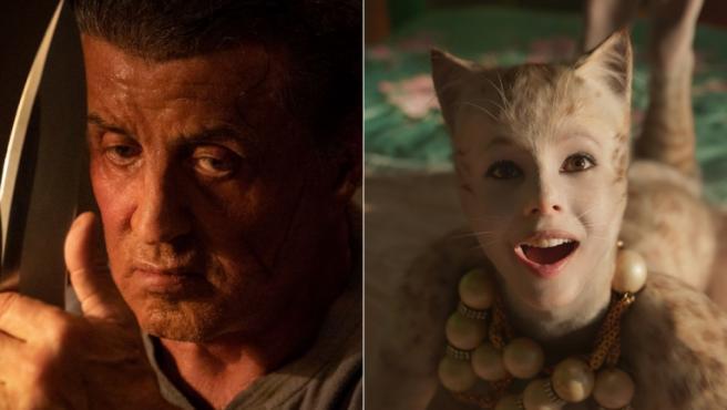 'Cats' y 'Rambo: Last Blood' lideran las nominaciones de los Razzie 2020