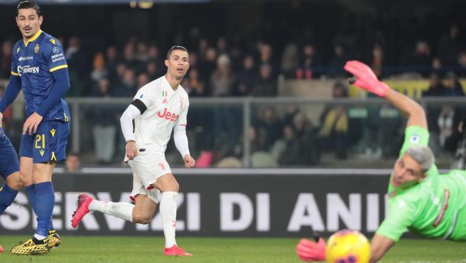 Cristiano marcó un gol de récord y superó los 20 tantos por 11ª temporada.