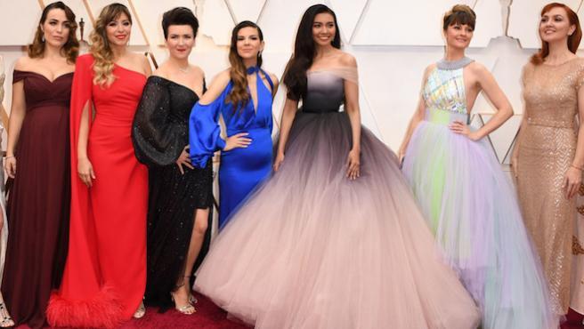 Gisela y el resto de 'Elsas' deshielan los Oscar 2020