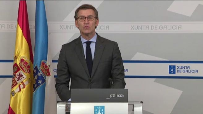 El presidente de la Xunta de Galicia, Alberto Núñez Feijóo, ha tomado este lunes la decisión de adelantar las elecciones en Galicia al día 5 de abril, coincidiendo con los comicios vascos.