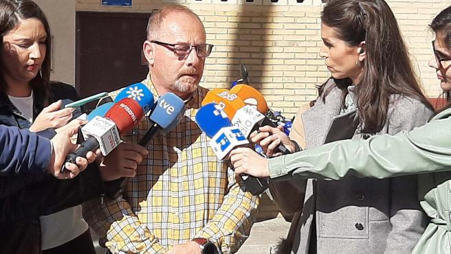 Antonio del Castillo, padre de Marta, en declaraciones a los medios.