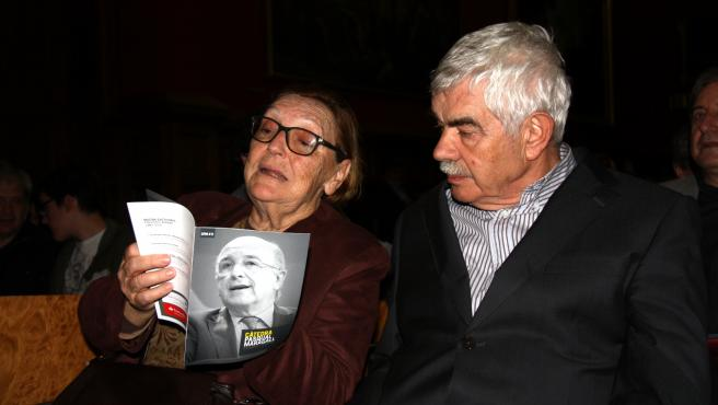Imagen de archivo de Diana Garrigosa junto a Pasqual Maragall.