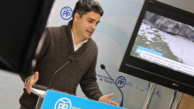 El concejal del PP en el Ayuntamiento de Toledo Juan José Alcalde
