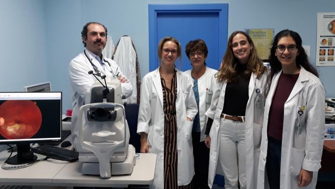 El hospital de Valme, reconocido en el congreso andaluz de oftalmología