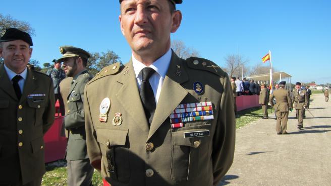 El nuevo general jefe de la Brigada 'Guzmán el Bueno' X, Ignacio Olazábal Elorz.