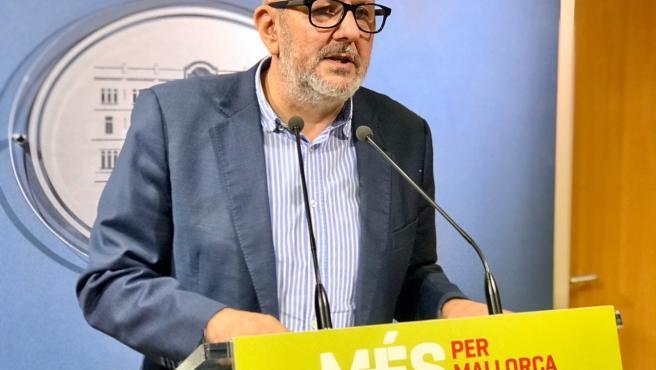 El portavoz de MÉS per Mallorca, Miquel Ensenyat.