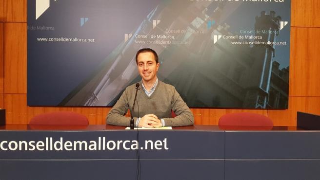 El portavoz del Grupo Popular en el Consell de Mallorca, Llorenç Galmés.
