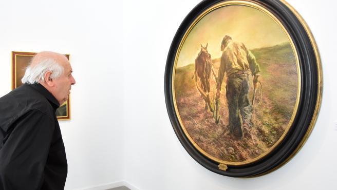 Exposición de Enrique Seco en la sala La Salina de Salamanca.