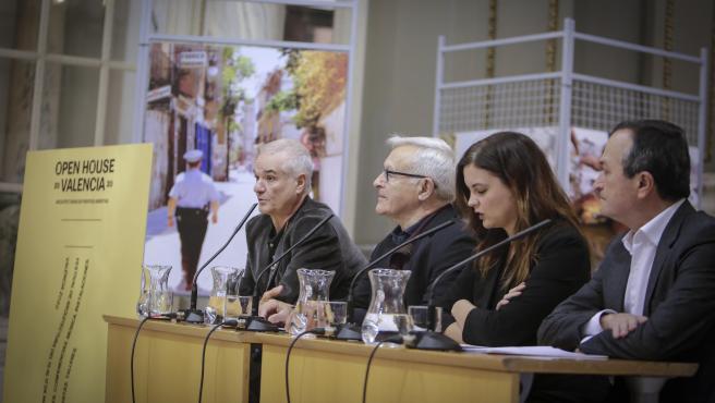 Imagen de la presentación del festival de arquitectura Open House València 2020