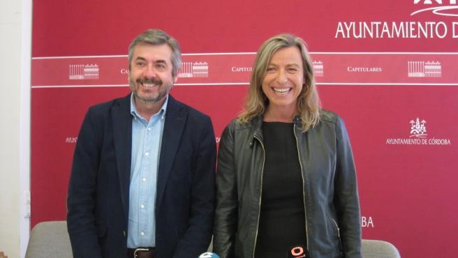 Isabel Albás y Miguel Ángel Torrico.
