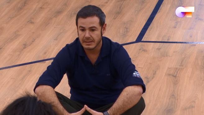 Iván Labanda, profesor de interpretación de 'OT 2020'.
