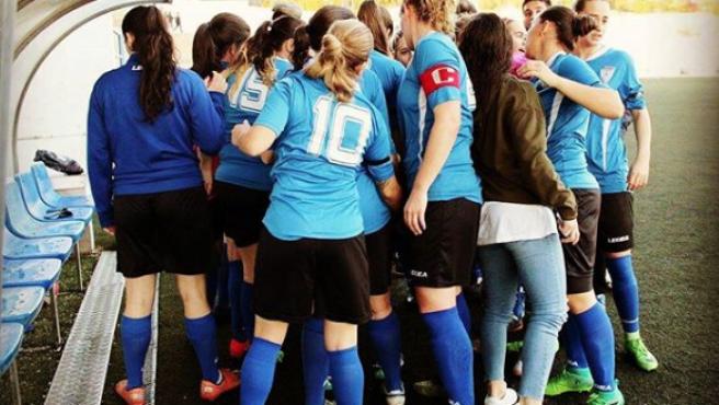 Las jugadoras del Crevillente, durante un partido.