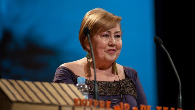 La actriz Pilar Pereira