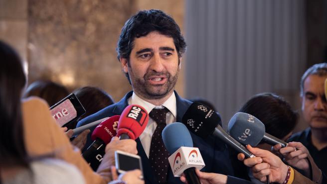 El conseller de Política Digital y Administración Pública, Jordi Puigneró.