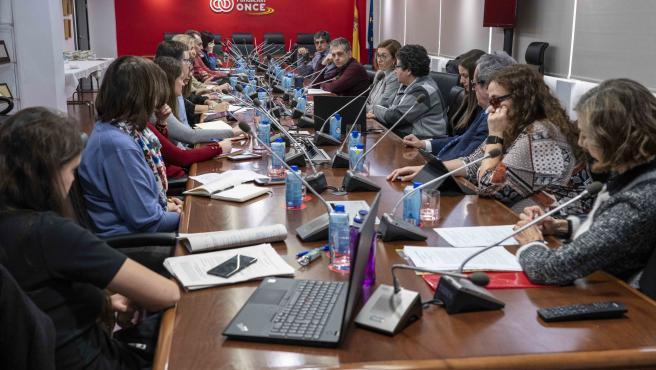 Reunión preparatoria de la quinta edición del V Congreso Internacional 'Universidad y Discapacidad', de Fundación ONCE.
