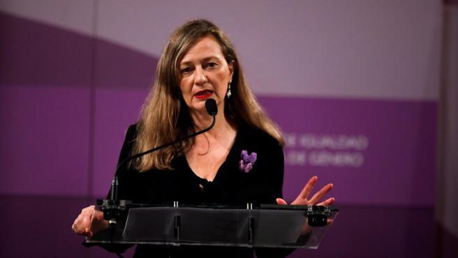 Victoria Rosell, delegada del Gobierno de Violencia de Género.