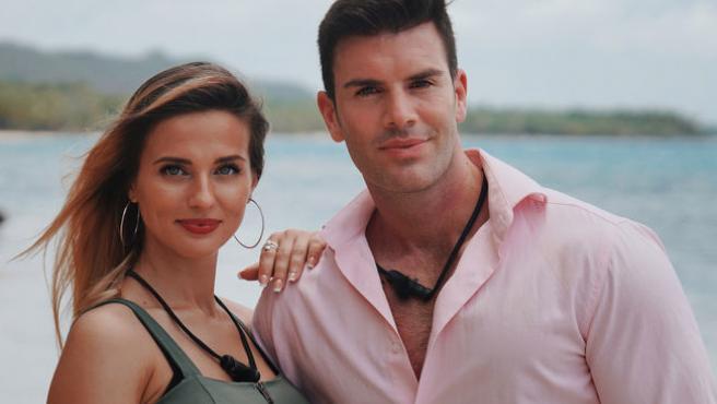 Adelina Seres y José Sánchez en La isla de las tentaciones.