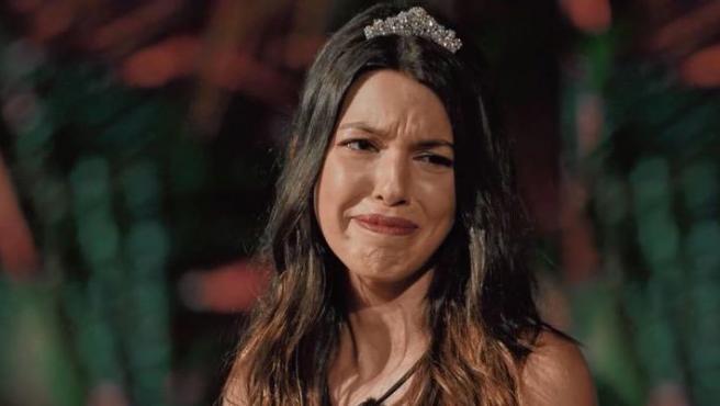 Andrea en el décimo programa de La isla de las tentaciones.