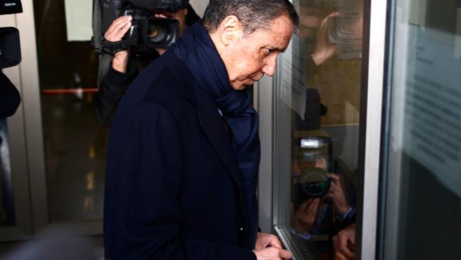El expresidente de la Generalitat valenciana, Eduardo Zaplana, en una imagen de archivo