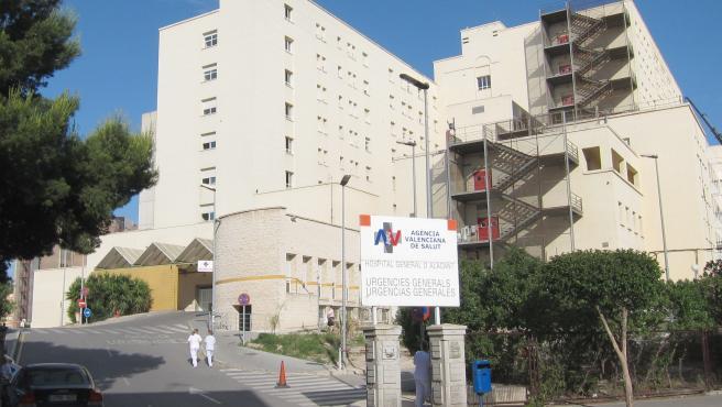 Entrada De Urgencias Del Hospital General De Alicante