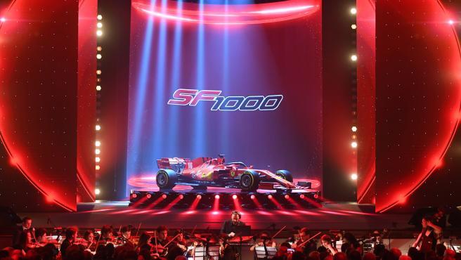 El Ferrari SF1000 de la temporada 2020 de Fórmula 1