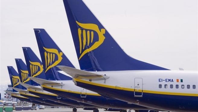 Foto d'arxiu de Ryanair.